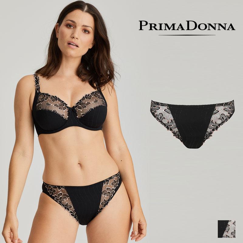 【Prima Donna】プリマドンナ DEAUVILLE ブラジリアンショーツ Celebration Blackカラー(056-1810)