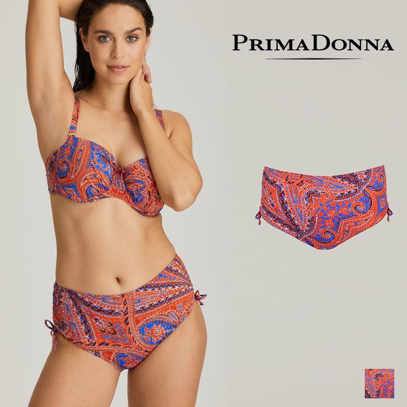 予約【Prima Donna】プリマドンナ スイムウエア CASABLANCA ハイウエストショーツ(400-6452) Blue Spiceカラー