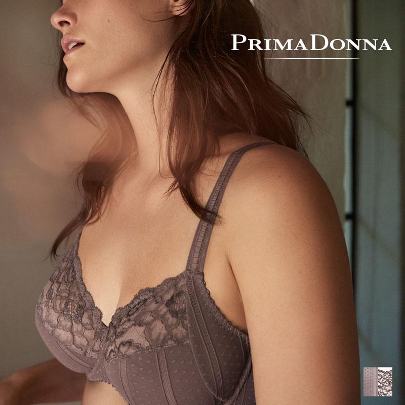 Prima Donna COUTURE ワイヤーブラ BCDEカップ Agate greyカラー(016-2580)