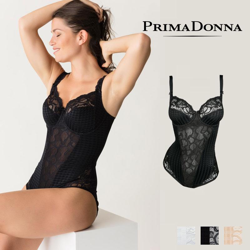 【予約購入】【Prima Donna】プリマドンナ MADISON(マディソン) ボディ(046-2120)BLACK,Caffelatteカラー 返品不可