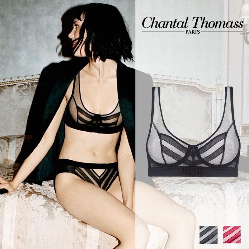 新作登場!フランス【ChantalThomass】シャンタルトーマスInfluenteワイヤーブラ Blackカラー(T04A10)
