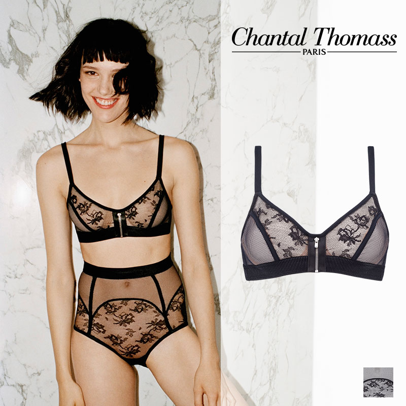 【新作】フランス【ChantalThomass】シャンタルトーマスINTRIGANTEカラーワイヤーブラ