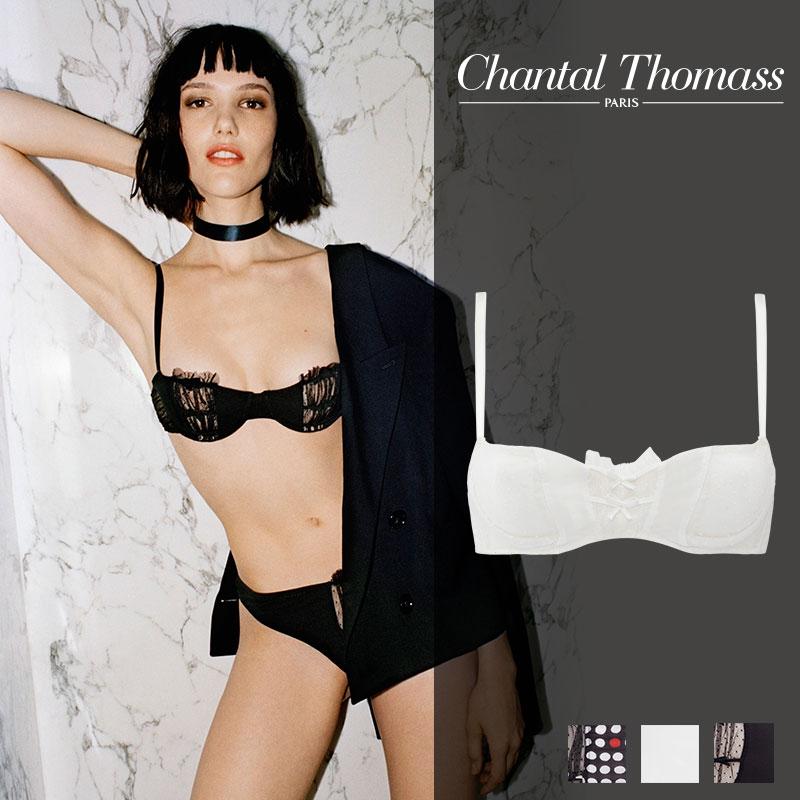 【新作】フランス【ChantalThomass】シャンタルトーマスFRIVOLE Milkカラーワイヤーブラ