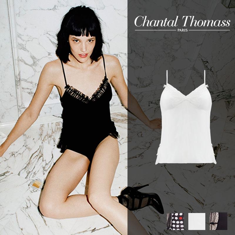 【新作】フランス【ChantalThomass】シャンタルトーマスFRIVOLE Milkカラートップ