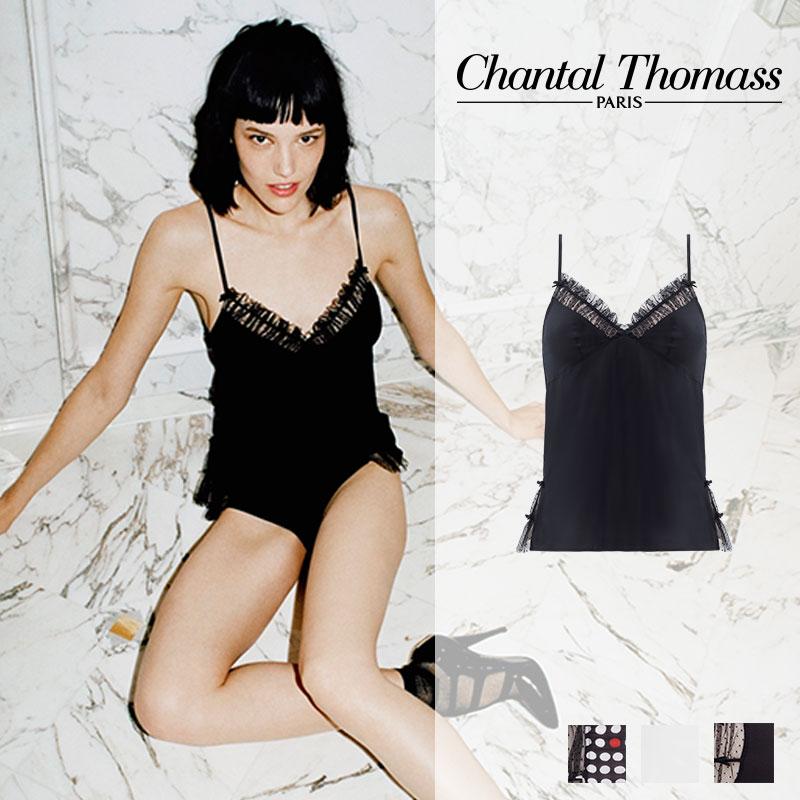 【新作】フランス【ChantalThomass】シャンタルトーマスFRIVOLE BLACKカラートップ