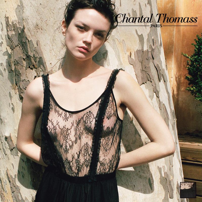 【新作】フランス【ChantalThomass】シャンタルトーマス19SS LIFE-WEAR サロペット Black カラー (TTH260)