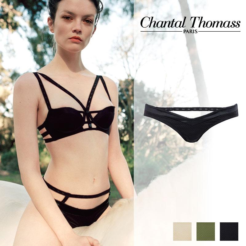 【新作】フランス【ChantalThomass】シャンタルトーマスTROUBLANTE ビキニ Blackカラー (T01B70)
