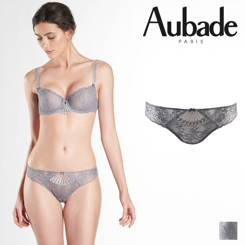 【Aubade】オーバドゥHD IVRESSE BYZANTINE タンガ Astreカラー(HD26)