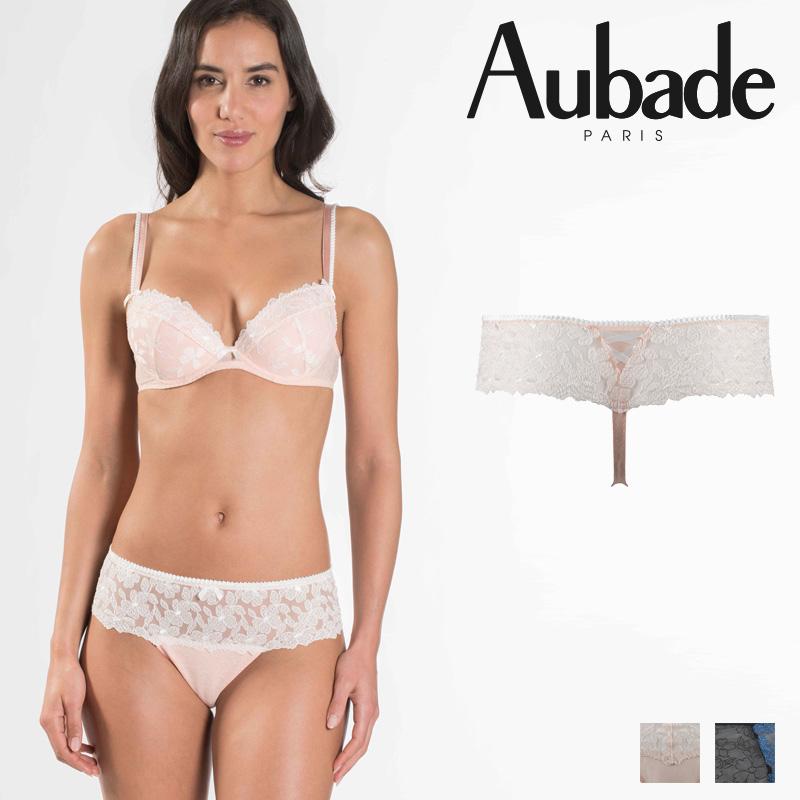 【Aubade】オーバドゥMJ FEMME Charmeuse ホットタンガ Rose Dustカラー(MJ71)