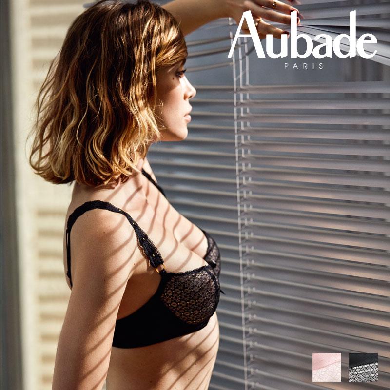 【30%オフ】フランス【Aubade】オーバドゥFemme Aubade(フェム オーバドゥ)ハーフカップブラ(MC14)