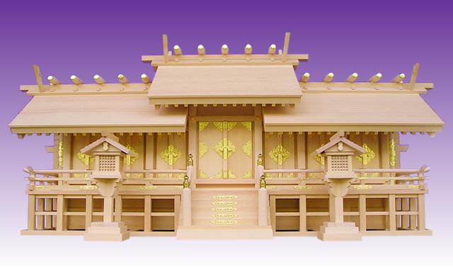 高級神棚 天恵七社(総木曽ひのき製)