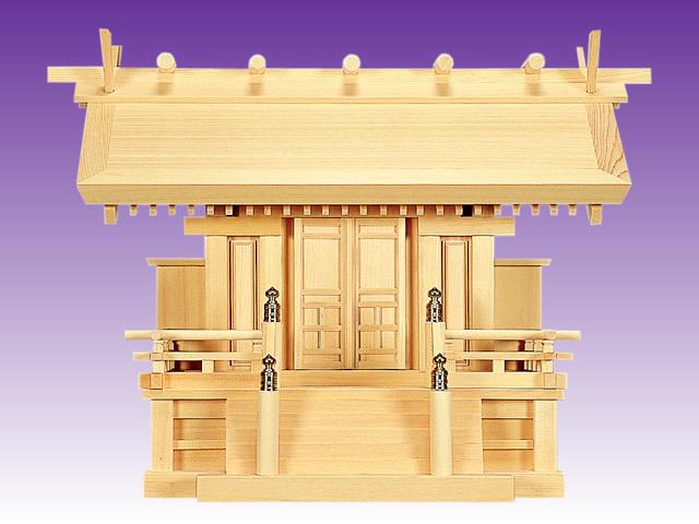 高級神棚 天神唐戸一社(木曽ひのき製)