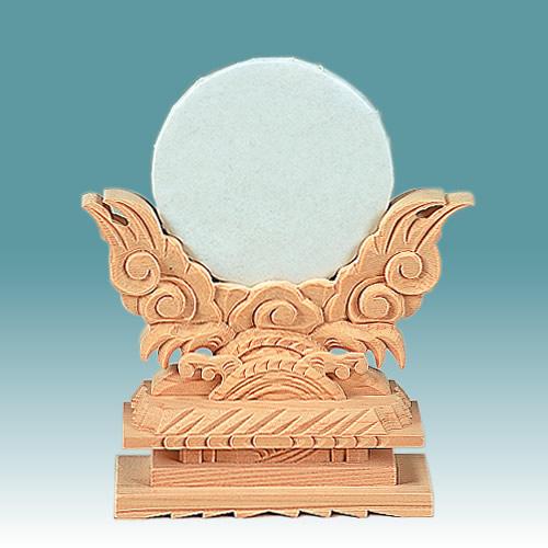 神鏡 上彫大3寸