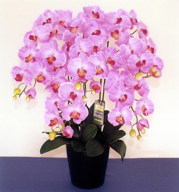 胡蝶蘭(造花) 5本立て