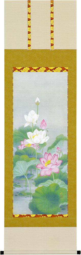 仏間用掛軸|仏画掛軸 聖蓮花