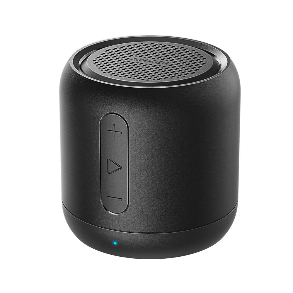 アンカー かわいい 保証 スマートフォン ワイヤレス Soundcore mini コンパクトby Anker Bluetoothスピーカー FMラジオ対応 新商品 内蔵マイク搭載 SDカード micro ゴールド 15時間連続再生 ブラック ピンク