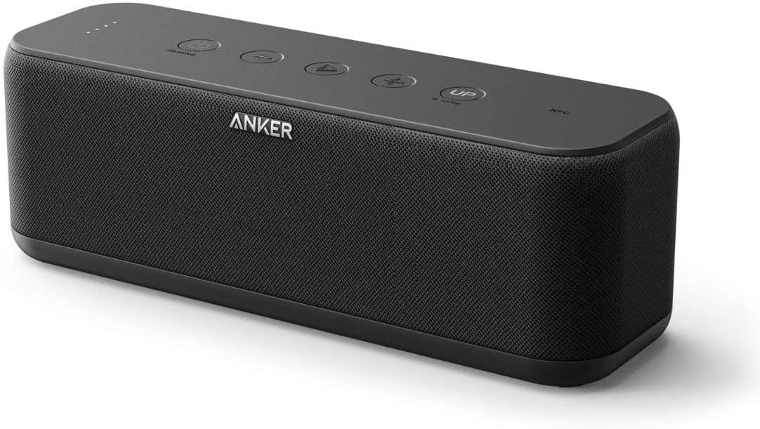 アンカー スマートフォン 半額 おしゃれ bluetooth 防水 Bluetooth スピーカー Soundcore スタイリッシュデザイン 迫力ある低音 IPX7防水規格 by Boost Bluetoothスピーカー20W Anker モバイルバッテリー機能搭載 ご注文で当日配送