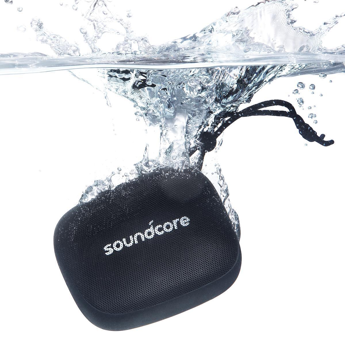 野外 スマートフォン ワイヤレス anker Anker ついに入荷 Soundcore Icon Mini 8時間連続再生 3W IP67防水防塵規格 Bluetooth スピーカー マイク内蔵 注目ブランド 3Wオーディオ出力 4.2