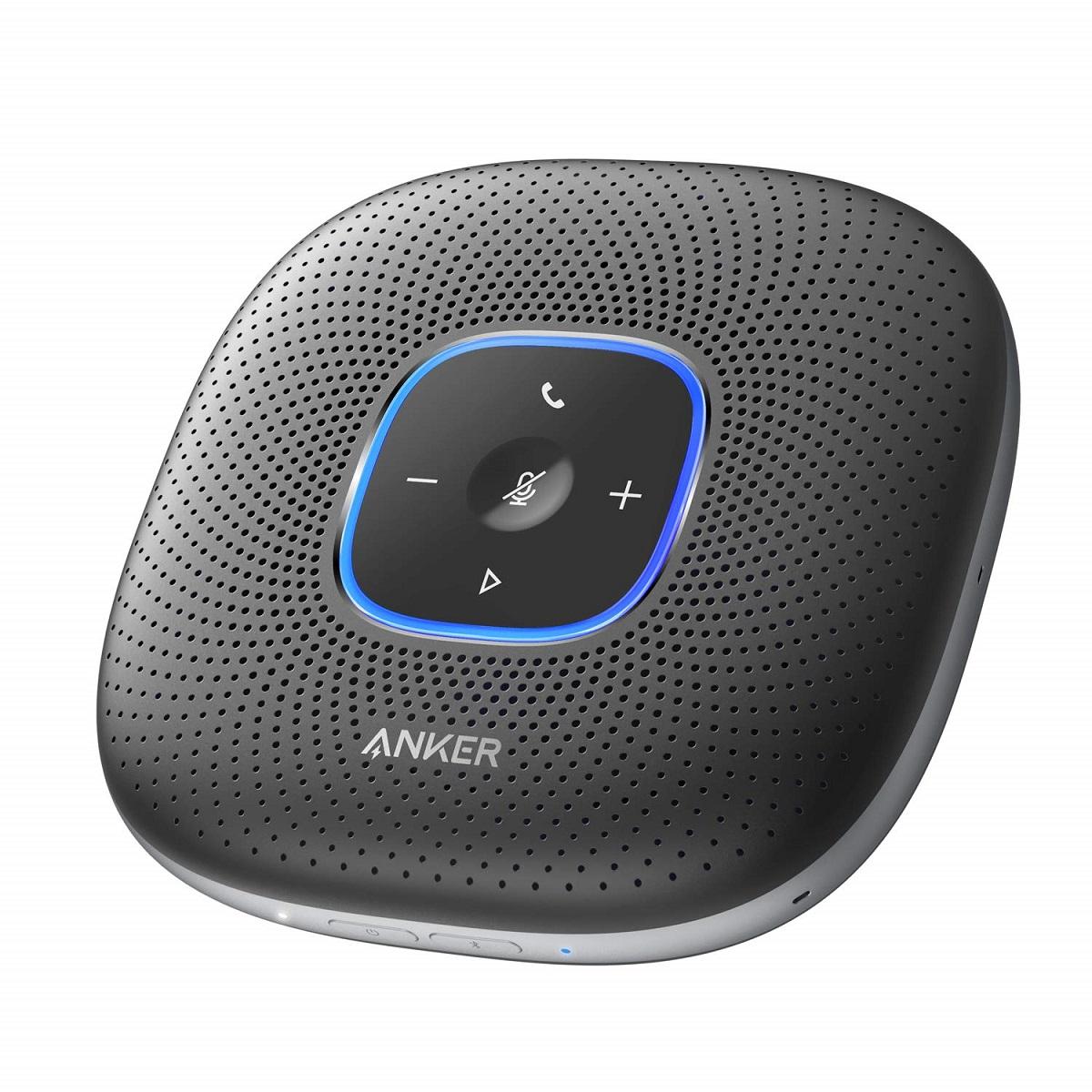 スピーカー anker ブルートゥース スマートフォン ショップ ワイヤレス テレワーク 在宅勤務 Anker PowerConf 会議用 Bluetooth スピーカーフォン ノイズキャンセリング 全指向性マイク 大容量バッテリー 新品未使用正規品 エコーキャンセリング Zoom PowerIQ 24時間連続使用 対応 など対応 Skype USB-C接続