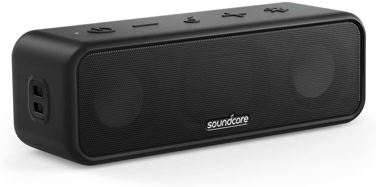 スピーカー anker ブルートゥース スマートフォン 売店 ワイヤレス 蔵 おしゃれ Bluetooth Anker Soundcore IPX7 24時間連続再生 3 PartyCast機能 チタニウムドライバー 防水規格 イコライザー設定 BassUpテクノロジー USB-C接続
