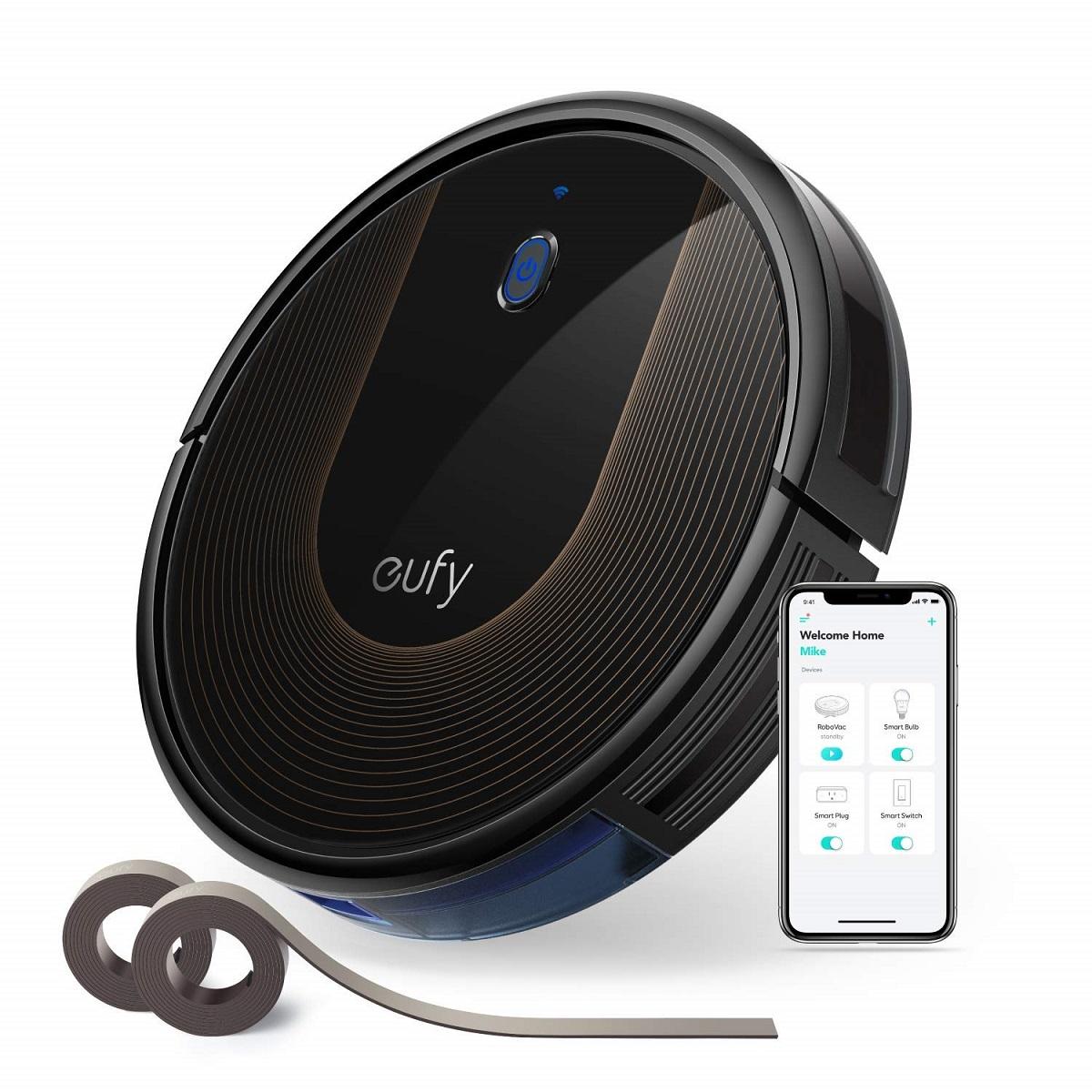 ロボット掃除機 Eufy RoboVac 30C by Anker ロボット掃除機【BoostIQ搭載 / Wi-Fi対応 / 1500Paの強力吸引 / 静音設計 / 自動充電】