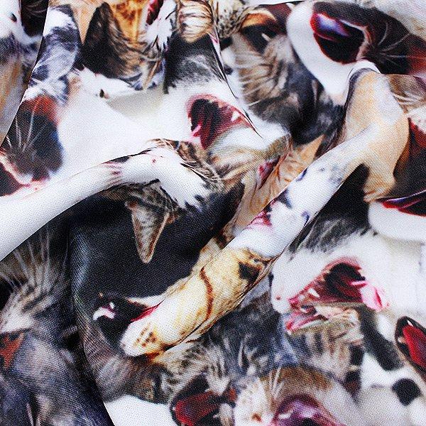 AnkoROCK アクビネコワイドパンツ-ダボダボ-/남성용 고양이 무늬 와이드 팬츠 여성 고양이 모양의 버그 팬츠도 독차지 와이드 팬츠 특유의 와이드 실루엣 팬츠 무늬 옷 무늬 동물 무늬 고양이 무늬 고양이 무늬 안코 잠금 하라주쿠 계통의 패션 스페셜 브랜드