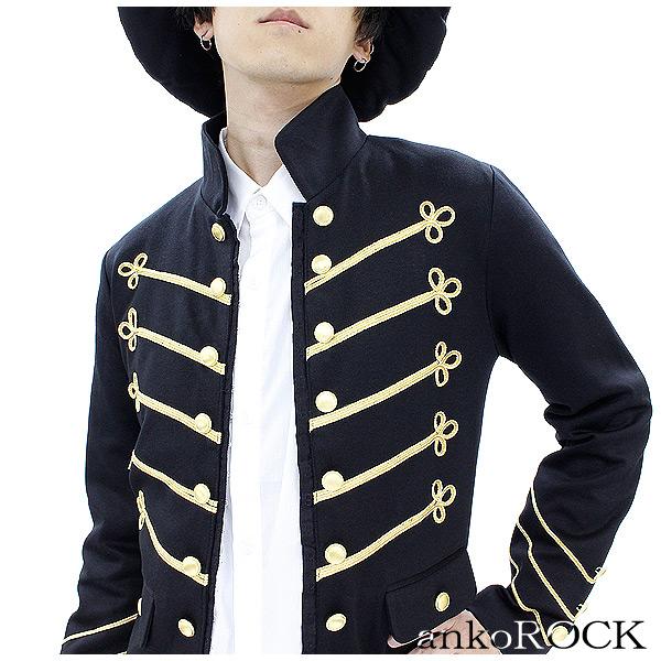 与え モード系 ファッション 派手 個性的 衣装 ankoROCK メンズ レディース ブラック 黒 セール特価 アンコロック ナポレオンジャケット