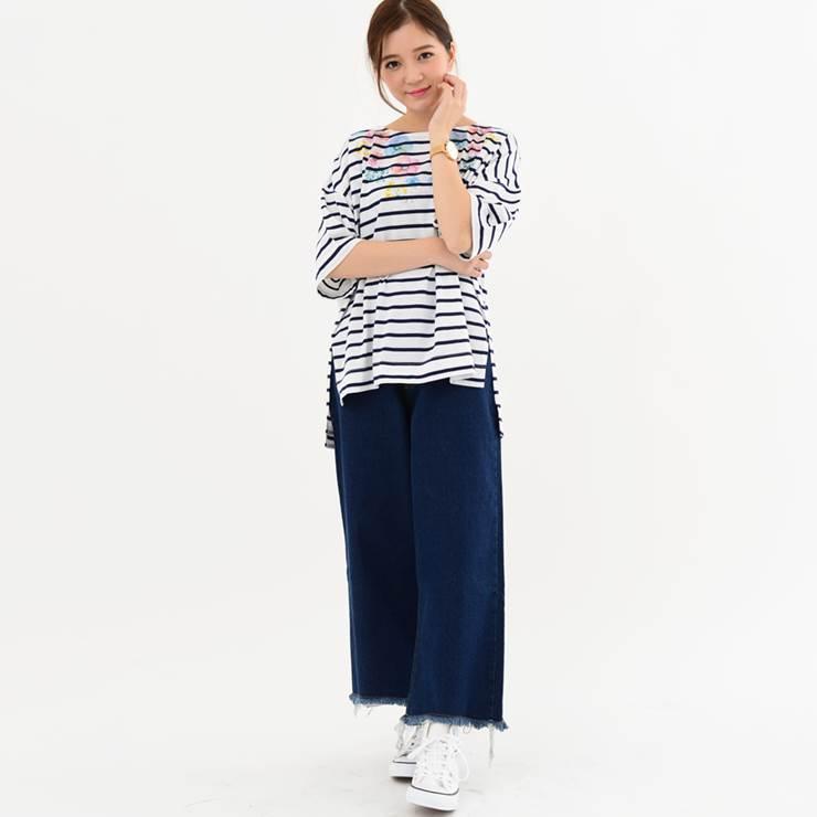 レディースファッション30代40代体形カバーゆったり春夏トップスTシャツ半袖ビッグ