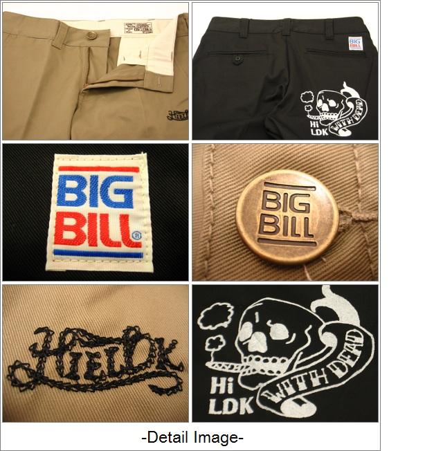 81 赛维 LDK (福克斯朗尼 · 史密斯) 工作千野忠男裤 ! 支持-LDK × BIGBILL 工作裤-瘦-