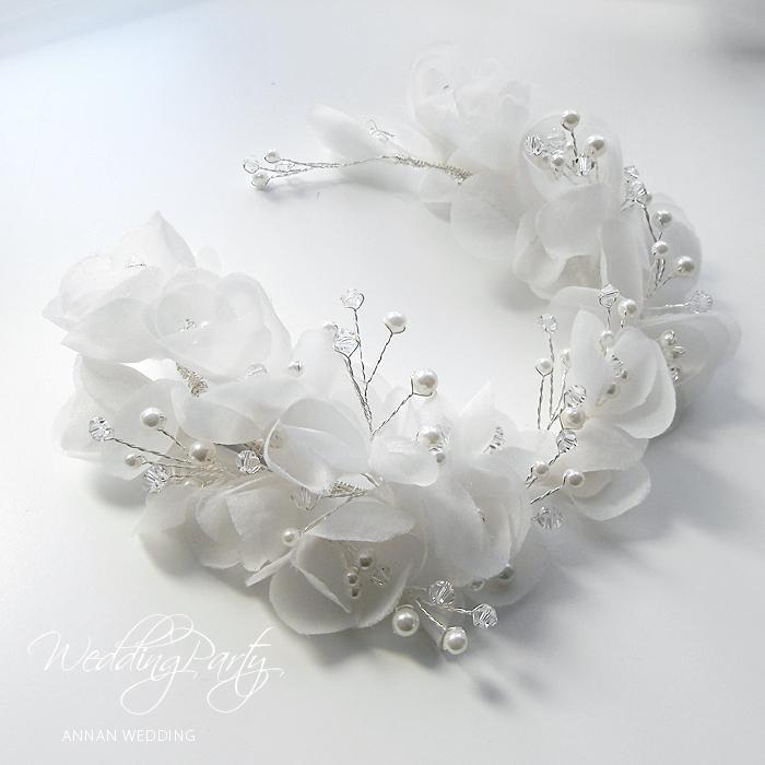 ヘッドドレス ビジュー  結婚式  ヘアアクセサリー ヘアアクセサリー ウェディング 結婚式 ウェディング ヘッドドレス 小枝 ヘッドドレス 花