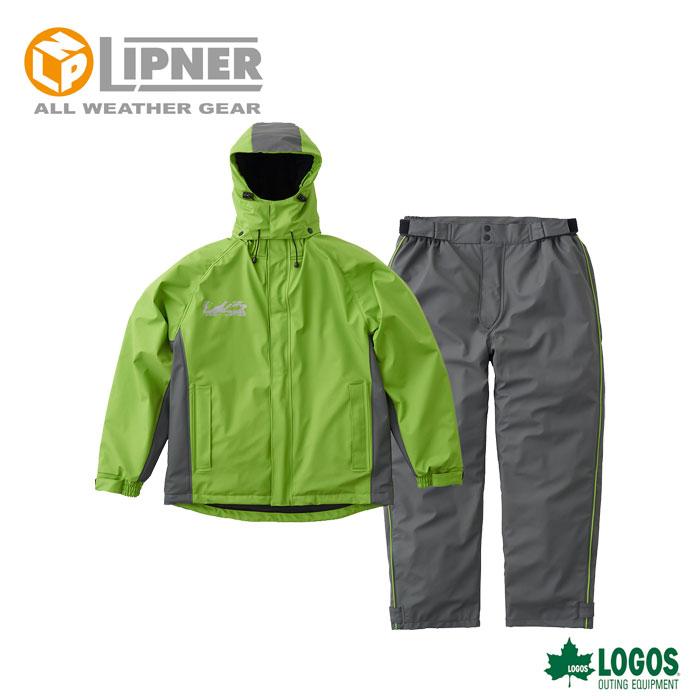 ○LIPNER リプナー 超耐水防水防寒スーツ パメラ グリーン 3037836 メンズ