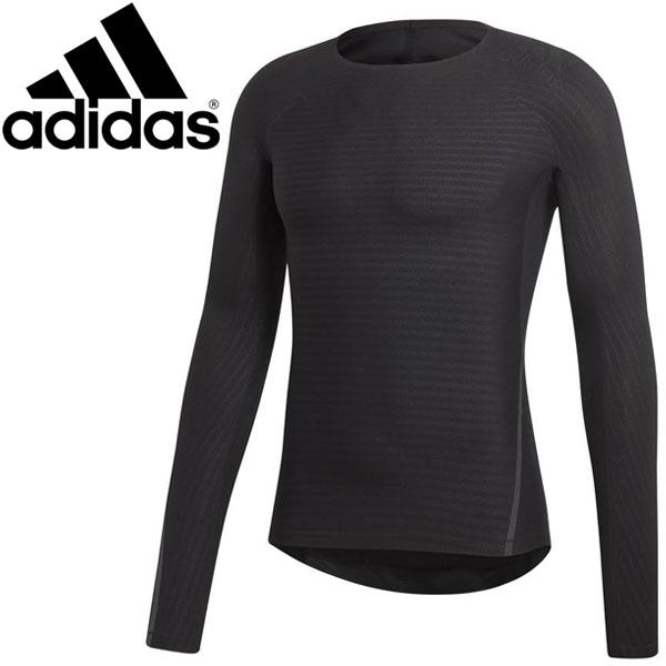 【メール便配送 代引不可】○18SS adidas(アディダス) ALPHASKIN ELITE ロングスリーブシャツ CF7163 メンズ