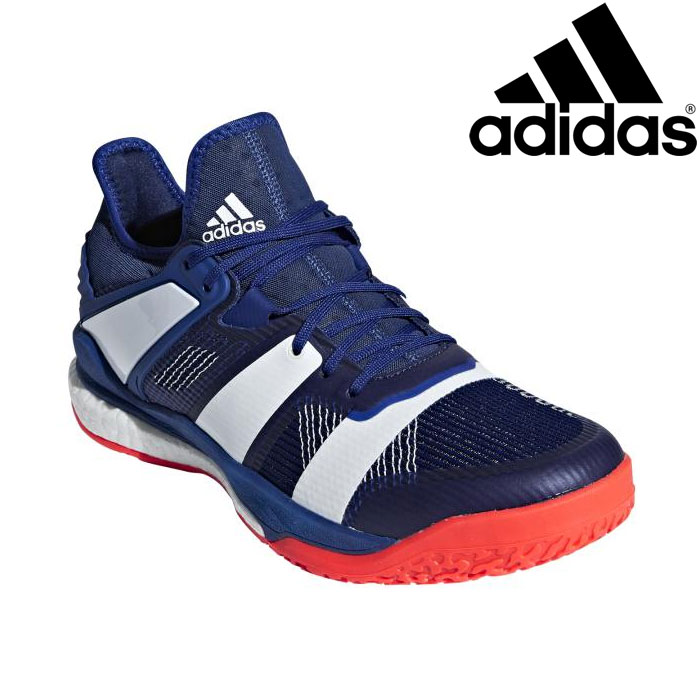 adidas Stabil X Indoor Court Shoes SS20 6.5 White: Amazon