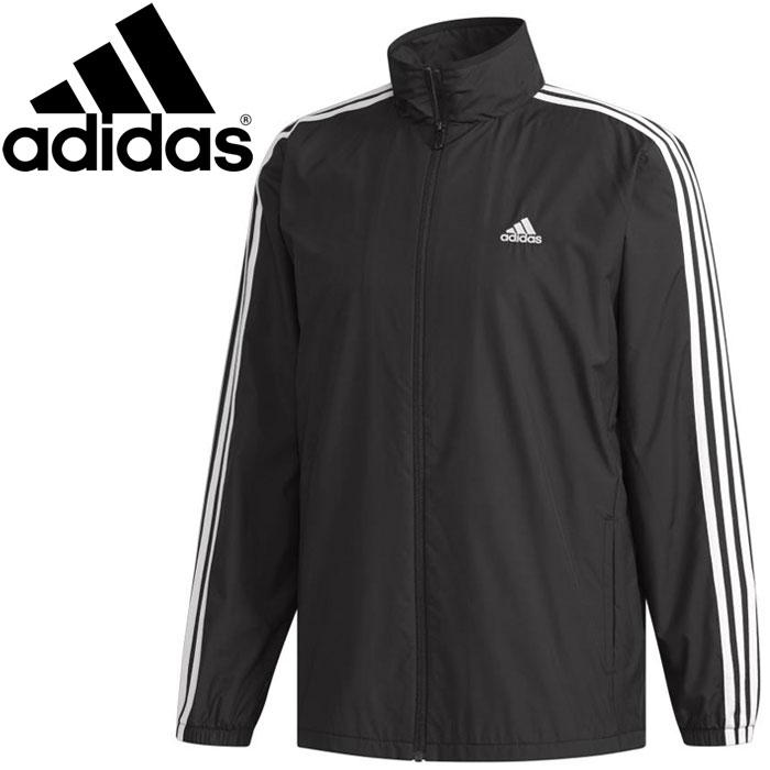 Adidas M ESSENTIALS 3 stripe windbreaker jacket (back raising) men's FKJ78 DN1429