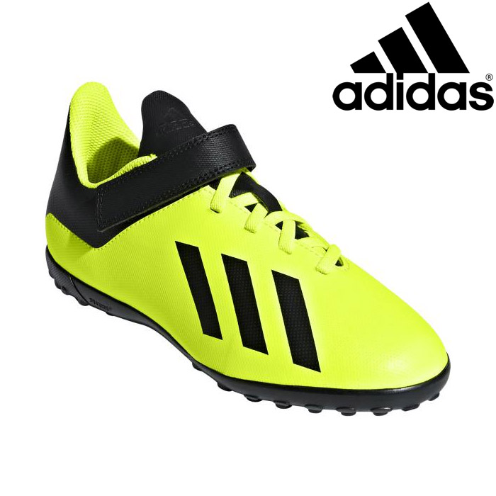 annexsports  Adidas X tango 18.4 TF J Velcro soccer shoes youth ... d99ea65991