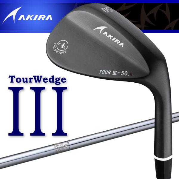 アキラ ゴルフ ツアーウェッジ3 PVD仕上げ N.S.PRO950GH シャフト AKIRA TOUR WEDGE III