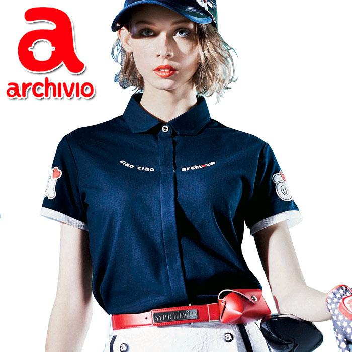 アルチビオ archivio ゴルフ 半袖シャツ A859313 レディース 2019年春夏