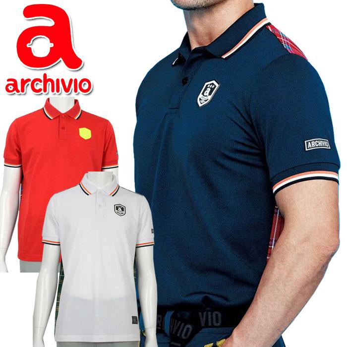 【期間限定プライスダウン】 アルチビオ archivio ゴルフウェア 半袖ポロシャツ A969206 メンズ 2020年春夏