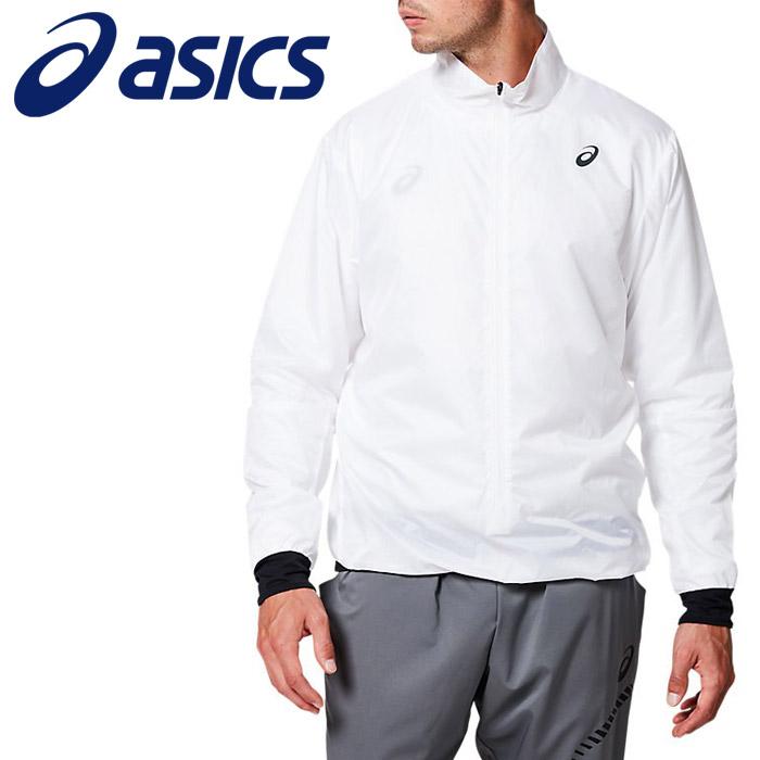 アシックス ランニングパッカブルプルオーバージャケット メンズ 2011A396-100