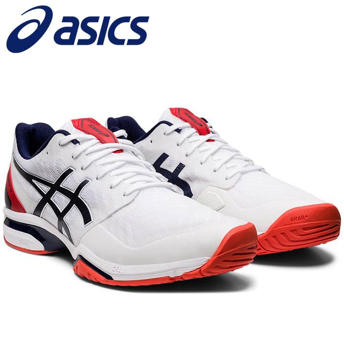 アシックス PRESTIGELYTE 3 OC テニスシューズ メンズ レディース 1043A009-100