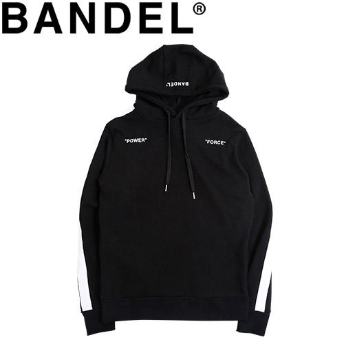 バンデル フーディ パーカー Hoodie Side Line BAN-HD001 Black