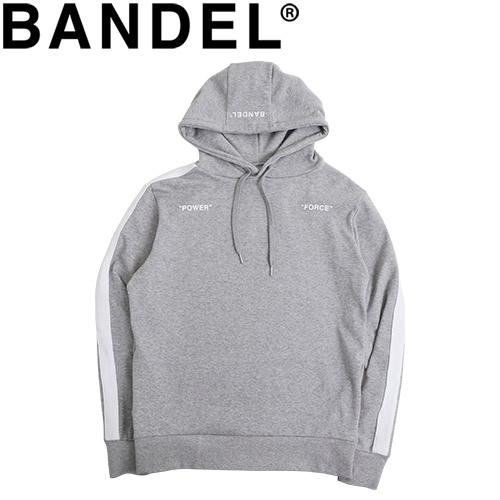 バンデル フーディ パーカー Hoodie Side Line BAN-HD001 Grey
