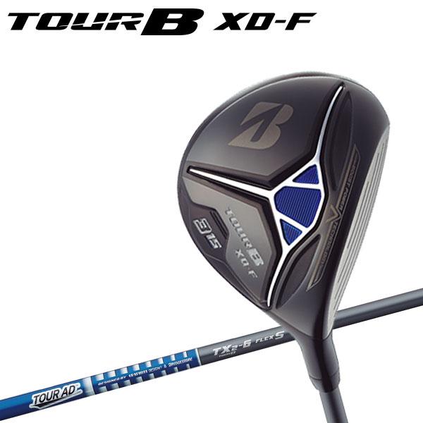 ブリヂストン ゴルフ TOUR B XD-F フェアウェイウッド TOUR AD TX2-6 シャフト