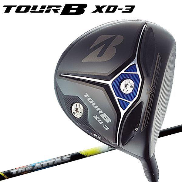 【特注対応】 ブリヂストン ゴルフ TOUR B XD-3 ドライバー マミヤ The ATTAS 6 シャフト 2018モデル