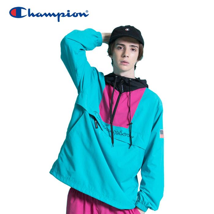 チャンピオン アノラックパーカー アクションスタイル メンズ C3-L609-460 19SS