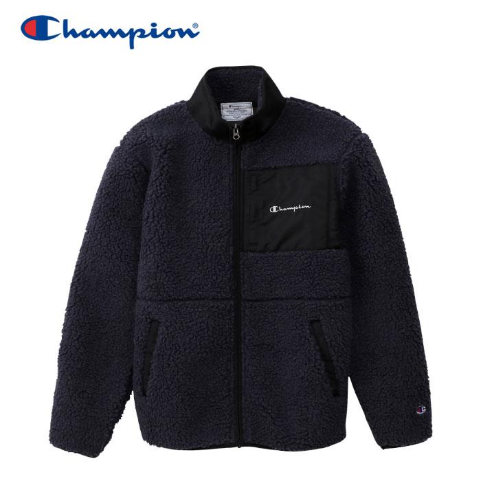 【クリアランスセール】 チャンピオン ボアジャケット フルジップ メンズ C3-Q615-080 2019 秋冬