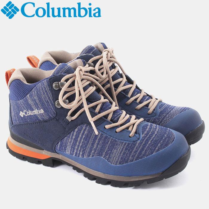 コロンビア メテオミッドオムニテック ニット 登山シューズ メンズ レディース YU3978-469