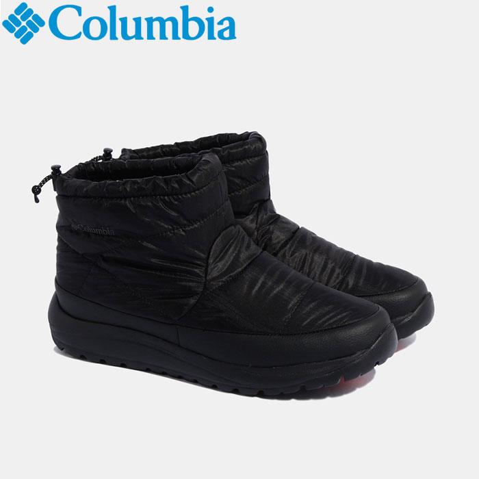 コロンビア スピンリールミニブーツアドバンスWPオムニヒート ウインター ブーツ メンズ レディース YU0275-010