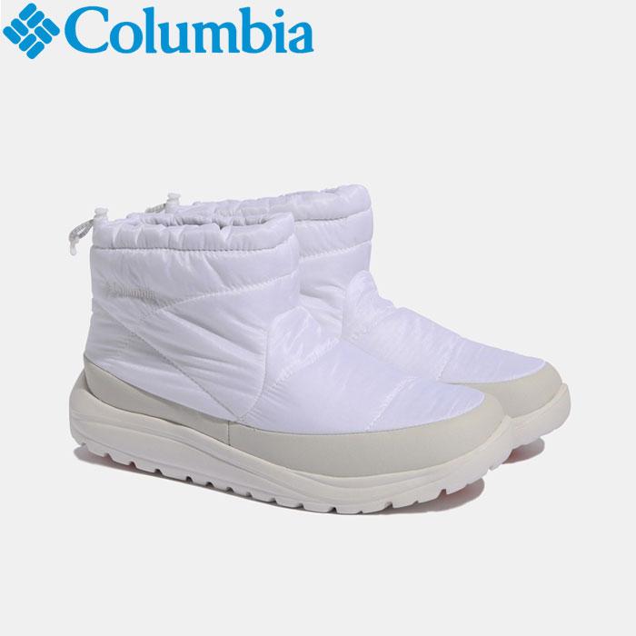 コロンビア スピンリールミニブーツアドバンスWPオムニヒート ウインター ブーツ メンズ レディース YU0275-100