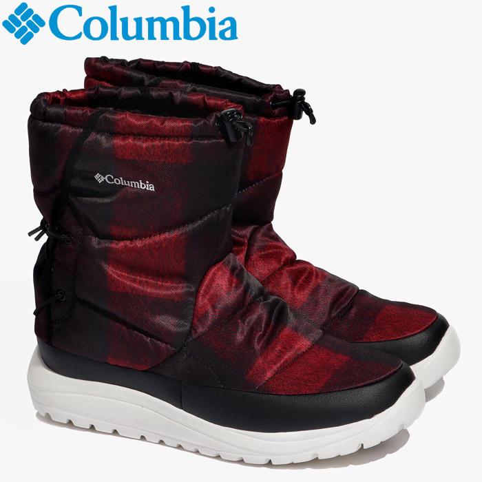 コロンビア スピンリールブーツウォータープルーフオムニヒート ウインター ブーツ メンズ レディース YU0276-664